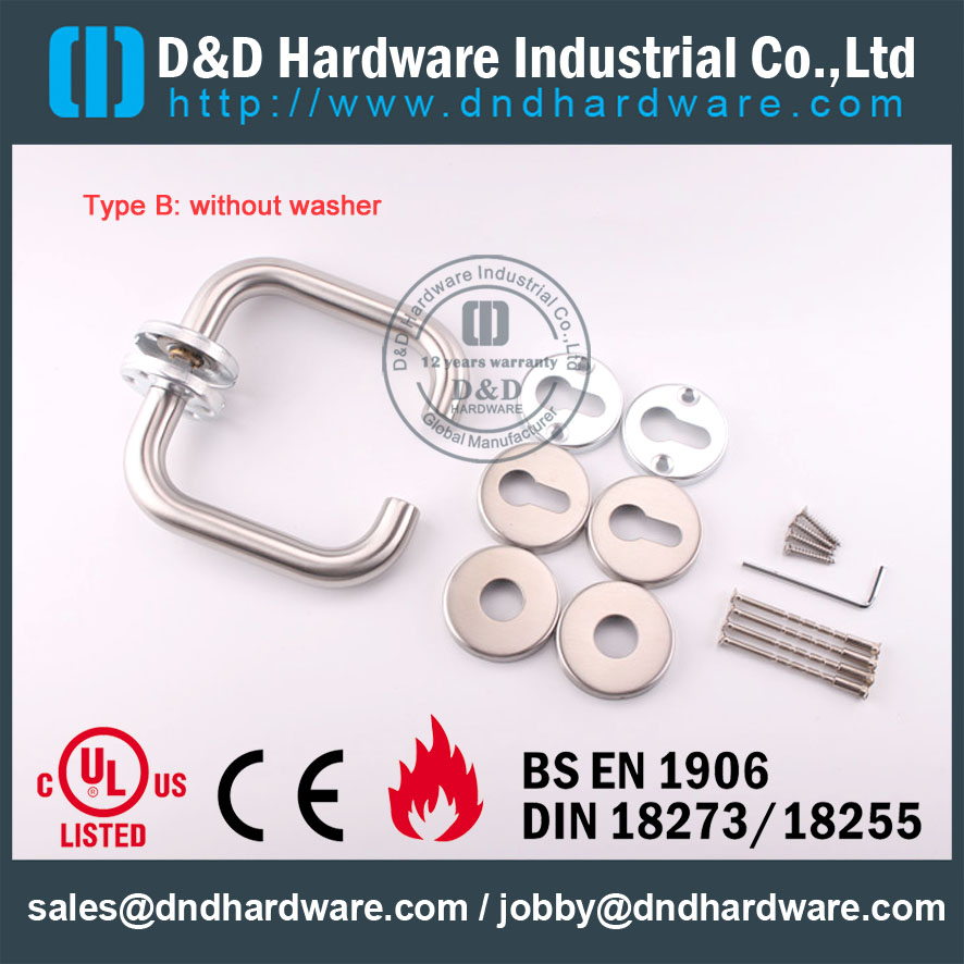 D&D Hardware-Stainless steel lever handle DDTH001