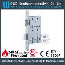Stainless Steel 304 European Mortise X-Ray Lock for Hospital Door-DDML027