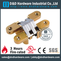 SS-CC07--25x118mm-Stainless Steel 316 Half Overlay Invisible Hinge for Interior Wooden Door
