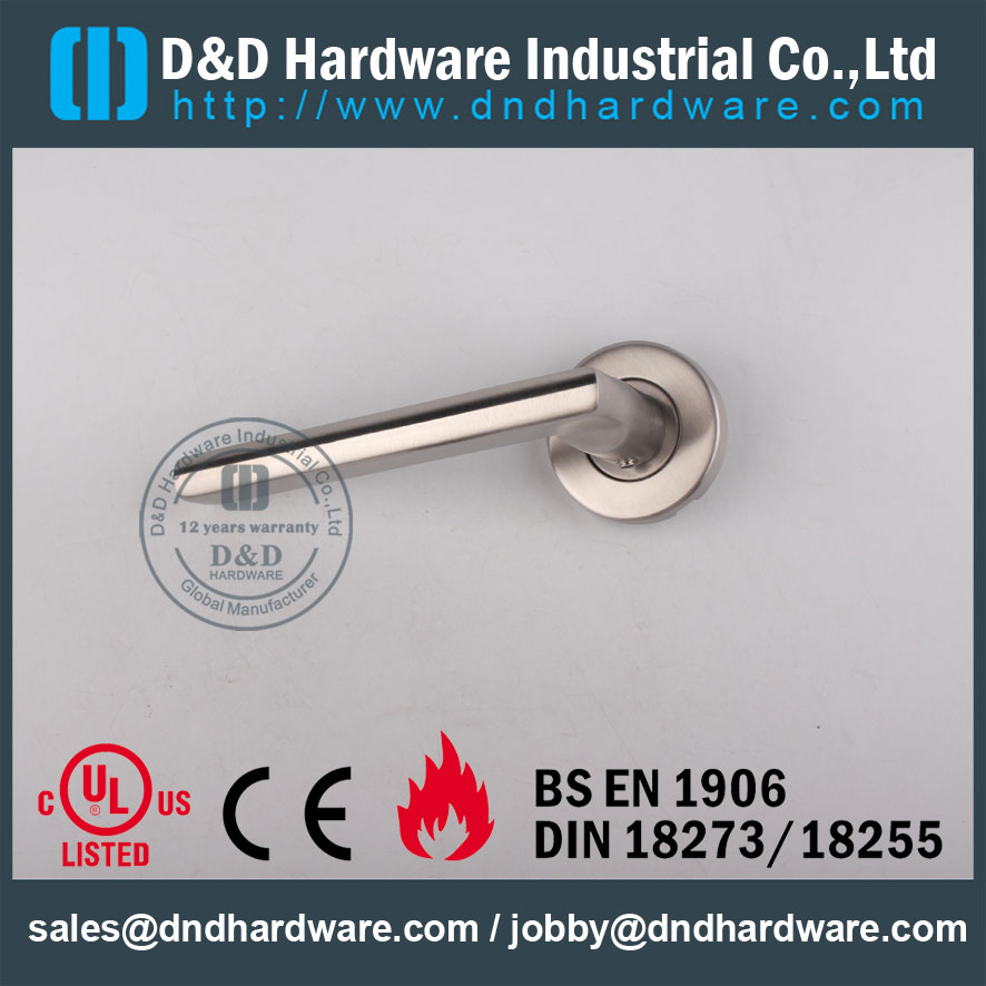 D&D Hardware- Europe Decorative design SS304 solid handle DDSH023