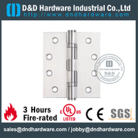 SS304 Fire Rated UL 2BB Hinge-DDSS001-FR-4x4x3.0mm