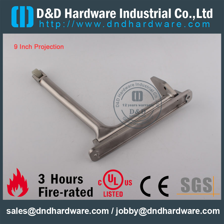 D&D Hardware-Construction Hardware SS304 Door Coordinator DDDR001