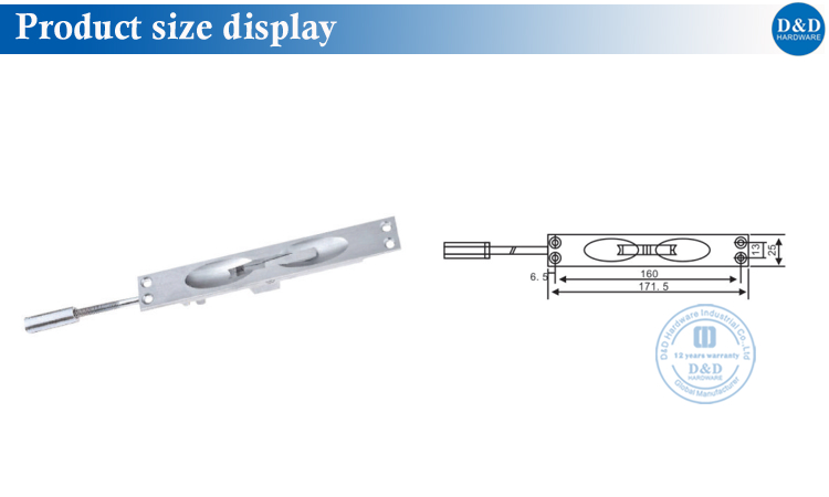 product size display
