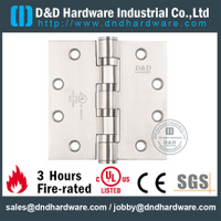 "UL Full Mortise Fire Rated Door Hinge 4.5"" for Steel Door-DDSS004-FR"