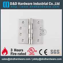 BS EN 1935 Grade 13 CE Ball Bearing Butt Hinge for Wooden Door-DDSS001-CE-4x4x3.0mm-SUS304