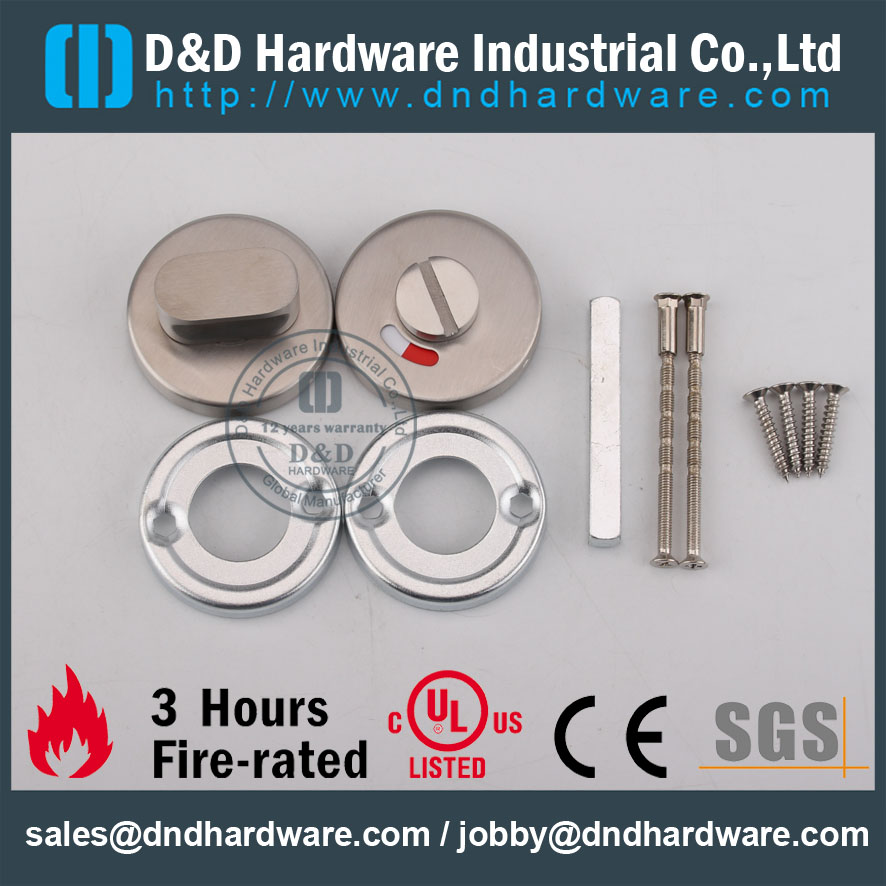 D&D Hardware-Fire Rated Thumb Turn with Indicator DDIK002