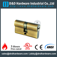 Solid Brass Euro Cylinder Lock for Entry Door-DDLC003