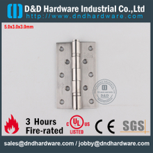 Stainless Steel Grade304 UL Fire Rated Ball Bearing Hinge for Office Door-DDSS005-FR-5x3x3.0mm