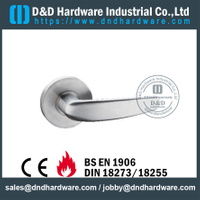 Stainless Steel 316 Good Feeling Durable American Door Handle For Metal Door-DDAH004