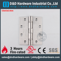 SS304 UL Fire Rated 2BB Door Hinge-DDSS006-FR-5x4x3.4mm