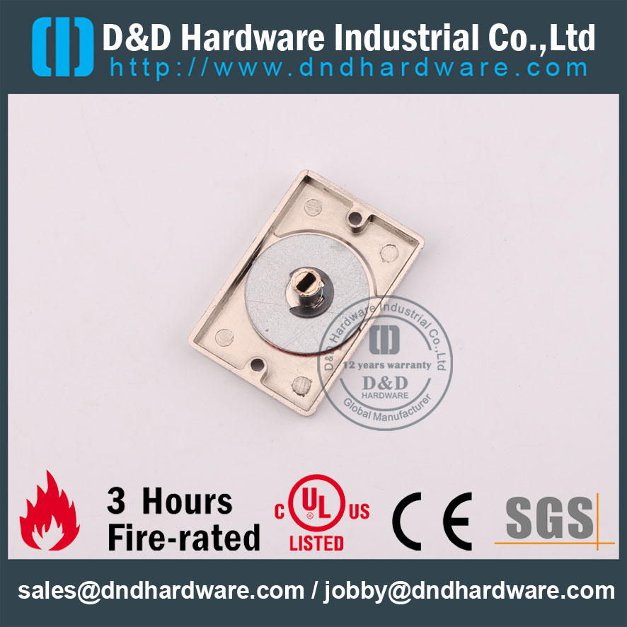 D&D Hardware-Fire Rate Door Thumb Turn with Indicator DDIK005