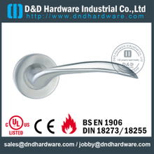 Stainless steel 304 arc-shaped lever solid handle for Wood Door - DDSH137