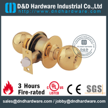 Stainless Steel Entrance Tubular Lockset for Wooden Door-DDLK001