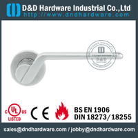 Cast Solid Stainless Steel Lever Handle for Office Doors-DDSH199