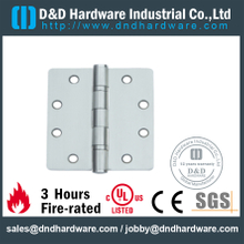 DDSS006-Grade 316 Stainless Steel Round Corner Mortise Hinge for Fire Door
