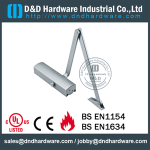 Aluminium Alloy Durable Exquisite Door Closer for Wooden Door - DDDC-G20