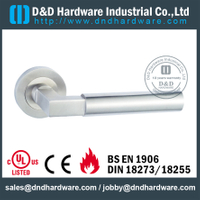 Antirust special design vertical lever solid handle for Entrance Door - DDSH170