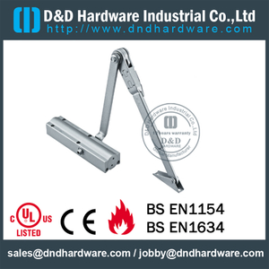 Aluminium Alloy Popular L type Door Closer for Aluminum Door - DDDC-30