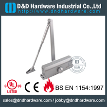 Aluminium Alloy 60-80KGS Fire Rated Door Closer with CE for Metal Door- DDDC017