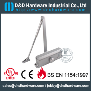 Aluminium 40-60KGS UL Fire Rated Door Closer for Wooden Door- DDDC016