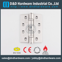 SS316 Hot Selling-BS EN 1935 Grade 13 2BB CE Door Hinge for Metal Door/Wooden Door -DDSS001-CE-4x3x3.0mm