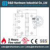 UL SS 304 Four Ball Bearing Hinge for Metal Door-DDSS004-FR-4.5x4x3.4mm
