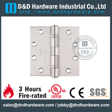 SS 4 ball bearing Fire Rated Door Hinge-DDSS002