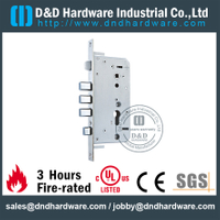 Stainless steel finish safe mortise lock for Front Door-DDML027