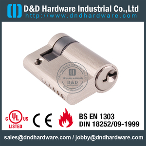 Brass Aluminum Door Single Cylinder Lock-DDLC010
