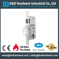 SS304 Key Operated Fire Rated Door Lock-DDML013