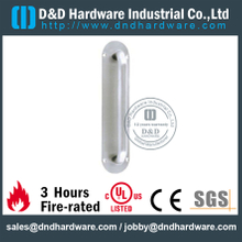 Grade 316 Round Pull Handle on Backplate for Wooden Doors-DDPH022