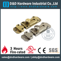 Zinc Alloy Casting Antique Brass Flush Door Bolt for Metal Door -DDDB025