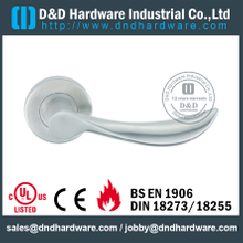 SUS304 classical excellent quality solid lever handle for Metal Door - DDSH098