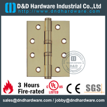 DDBH005-Solid Brass 2 Ball Bearing Hinge for Wooden Doors