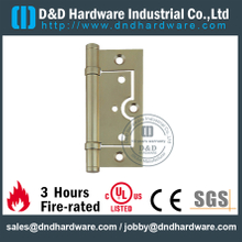 DDBH014-Solid brass rectangular flush hinge for Wooden Door