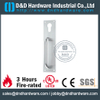 Antirust Night Latch Plate with Euro PZ Keyhole for Fire Escape Doors -DDPD017