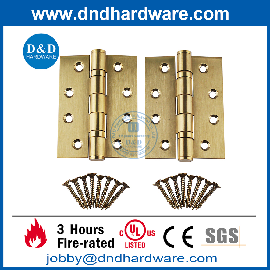 CE marked Fire Rated Building Hardware for Wooden Door