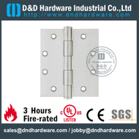 DDSS004-Grade 304 Plain Joint Hinge for Wooden Door with Satin Finish