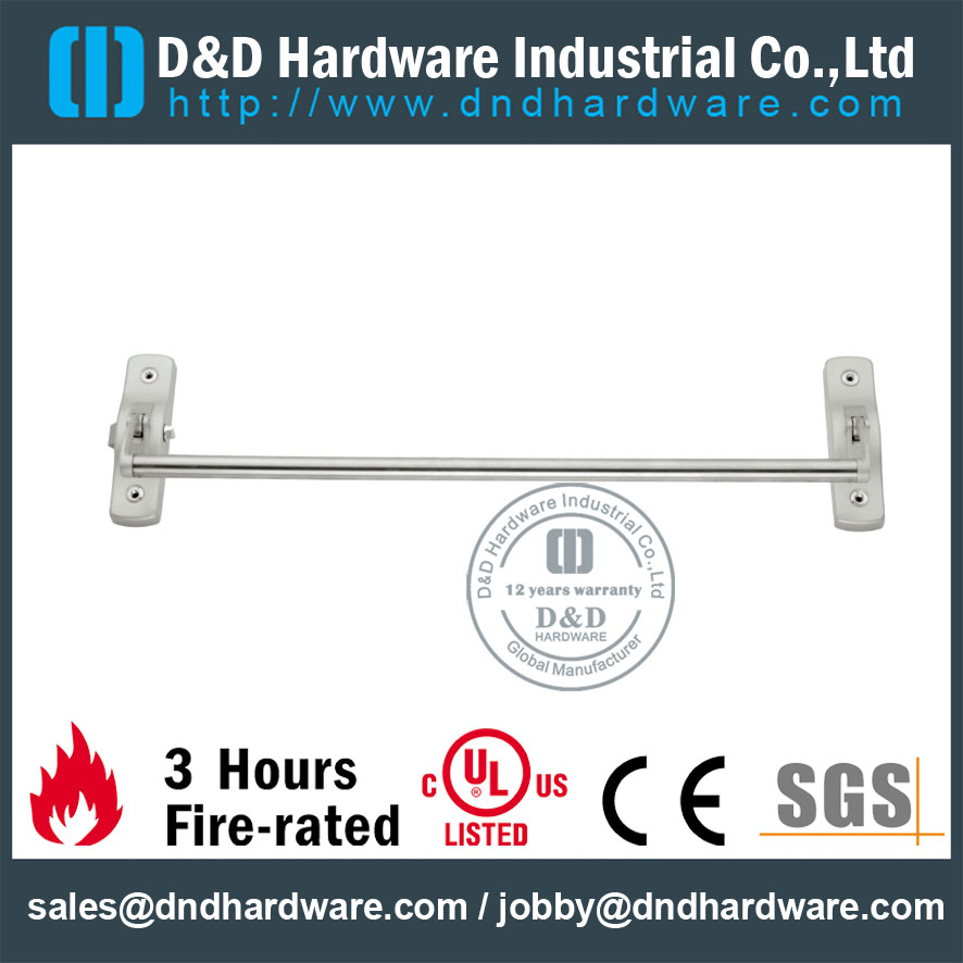 Stainless Steel 304 Panic Bars Controlled for Single Door -DDPD009
