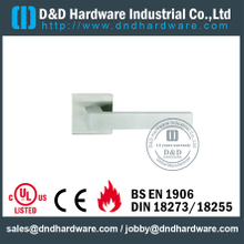 Stainless Steel Square Shape External Lever Door Handle for Single Door-DDTH019