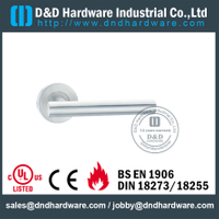 Stainless Steel 316 Hollow T Bar Handle for Fire Rated Steel Door with EN1906-DDTH009