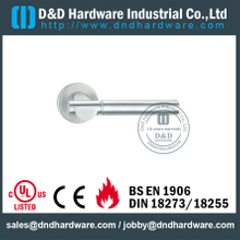 304 Grade Antirust Designer Lever Handle on Rose for Internal Door -DDSH018