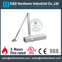 Automatic Die-Casting Double Action Heavy Duty Fire Rated Door Closer for Commercial Metal Door-DDDC011