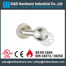 Stainless Steel 304 Mitred Ball Brushed Nickel Door Knob for Single Office Door -DDTH032