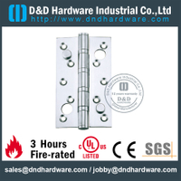 Double Security SS316 Door Hinge for Fire Rated Door-DDSS013