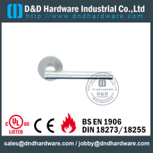 Popular Cast Solid Stainless Steel 316 Lever Handle for Commercial Doors -DDSH023