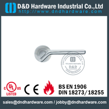 Grade 304 Antirust Solid Casting Lever Handle for Entry Steel Doors -DDSH040