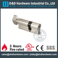 Brass Euro Door Lock Cylinder With Knob For Timber Door-DDLC002