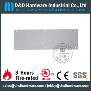 Stainless Steel 316 Antirust Kick Plate for Hospital Wooden Doors -DDKP001