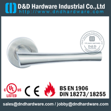 Antirust exquisite tubular lever solid handle for Entry Door - DDSH148